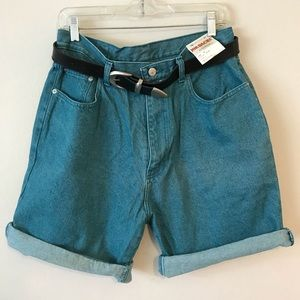 Vintage High-Waist Jean Shorts NWT